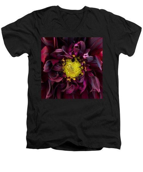 Dahlia - A Study In Crimson Men's V-Neck T-Shirt