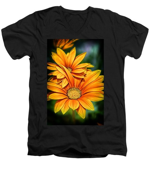 Daisy Blend Men's V-Neck T-Shirt