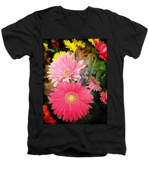 Daisy Jazz Men's V-Neck T-Shirt