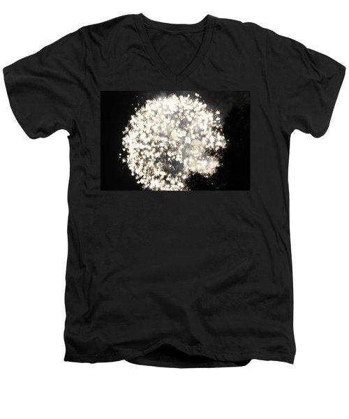 Dandelion Ablaze Men's V-Neck T-Shirt