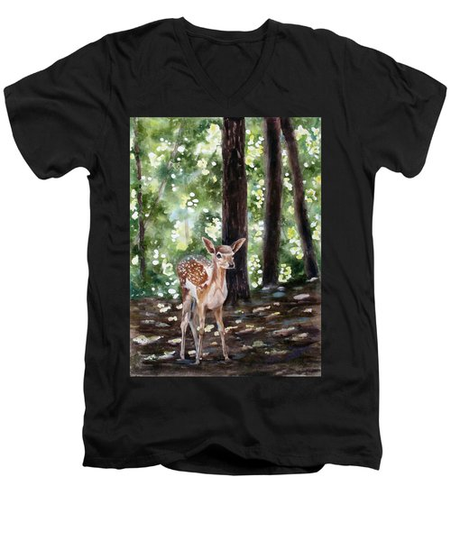 Dappled Innocence Men's V-Neck T-Shirt