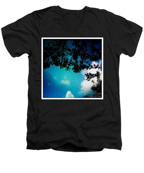 Dappled Sky Men's V-Neck T-Shirt