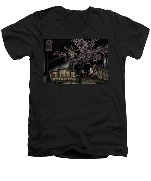 Dark Dream Men's V-Neck T-Shirt