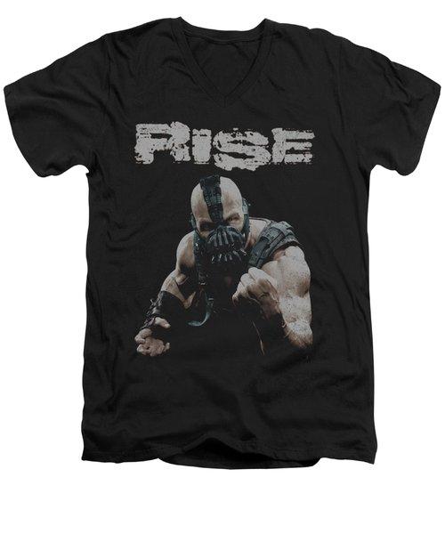 Dark Knight Rises - Rise Men's V-Neck T-Shirt