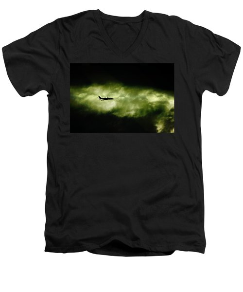 Dark Shadow  Men's V-Neck T-Shirt by Paul Job