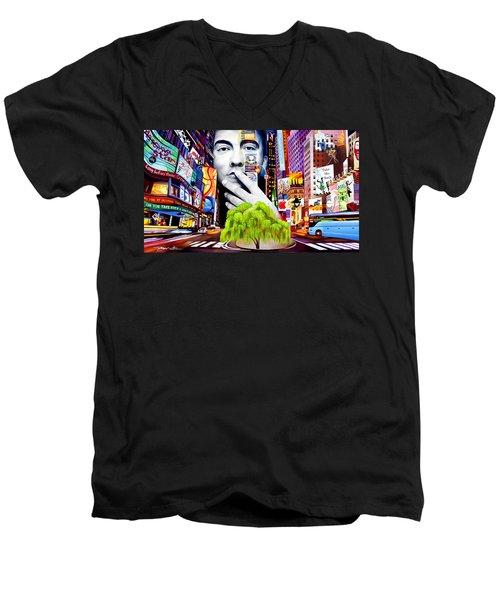 Dave Matthews Dreaming Tree Men's V-Neck T-Shirt