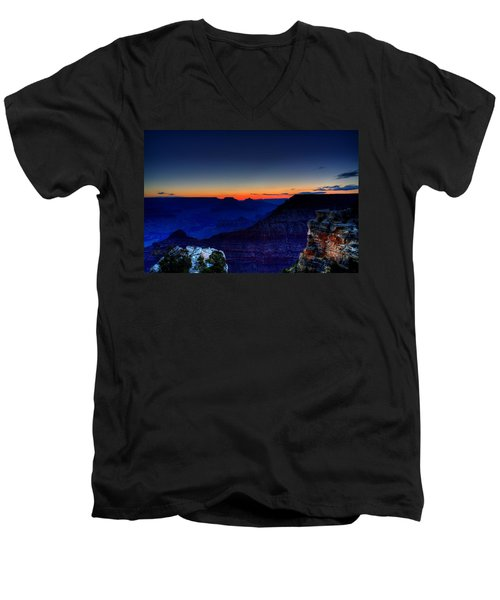 Dawn Is Breaking Men's V-Neck T-Shirt