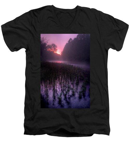 Dawn Mist Men's V-Neck T-Shirt