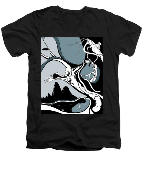 Dawning Men's V-Neck T-Shirt