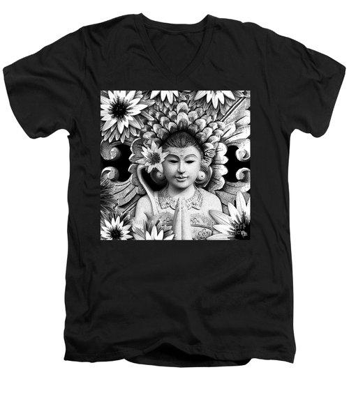 Dawning Of The Goddess Men's V-Neck T-Shirt