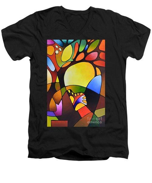 Daydream Canvas Three Men's V-Neck T-Shirt
