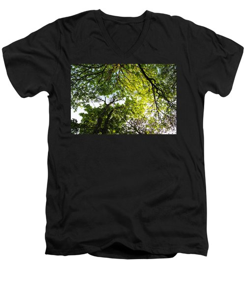 Daydreaming In The Hammock Men's V-Neck T-Shirt