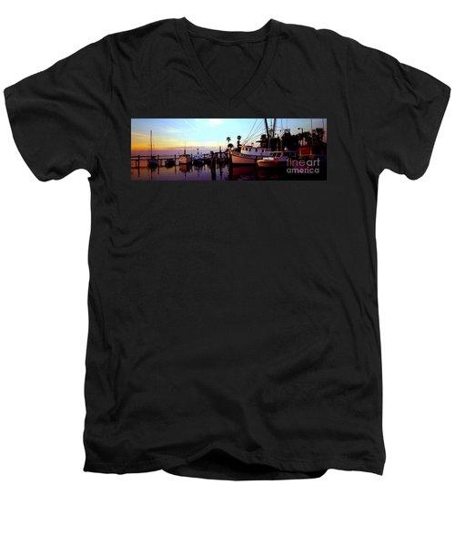 Daytona Beach Fl Last Chance Miss Hazel And Sonny Boy Men's V-Neck T-Shirt