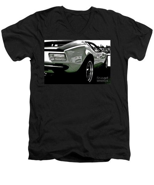 De Tomaso Pantera  1973 Men's V-Neck T-Shirt