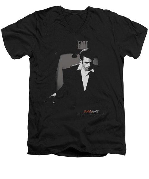 Dean - Exit Men's V-Neck T-Shirt by Brand A