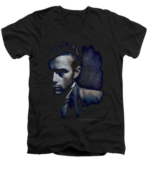 Dean - In Shadow Men's V-Neck T-Shirt by Brand A