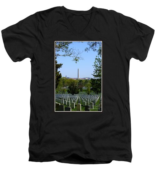 Men's V-Neck T-Shirt featuring the photograph Debt Of Gratitude by Patti Whitten