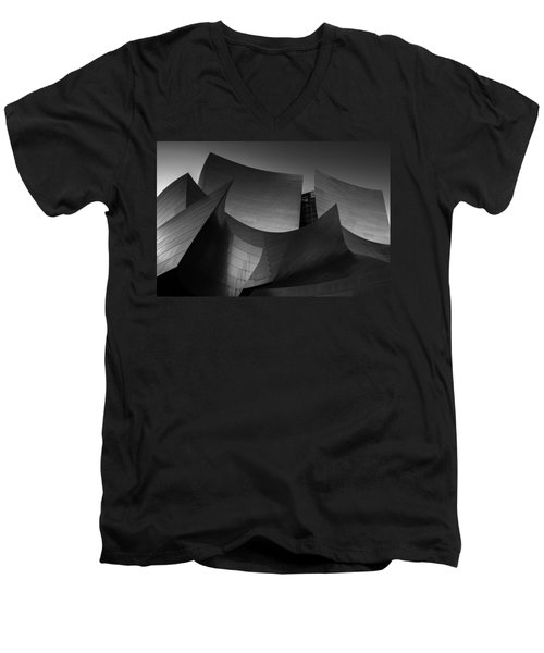Deconstructed Men's V-Neck T-Shirt