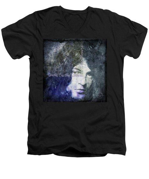 Deep Purple - Smoke On The Water Men's V-Neck T-Shirt