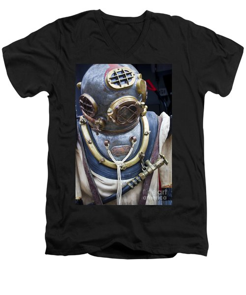 Deep Sea Diving Gear Men's V-Neck T-Shirt