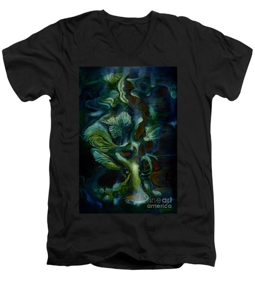 Deep Sea Within Men's V-Neck T-Shirt