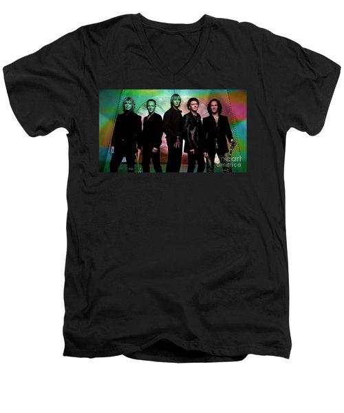 Def Leppard Men's V-Neck T-Shirt