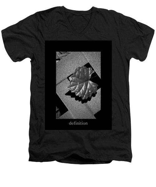 Definition Men's V-Neck T-Shirt