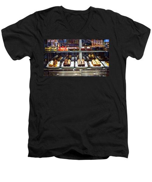 Delectable Desserts Men's V-Neck T-Shirt