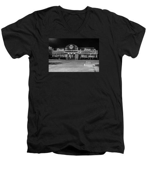 Denny's Classic Diner Men's V-Neck T-Shirt