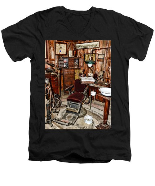 Dentist - The Dentist Chair Men's V-Neck T-Shirt