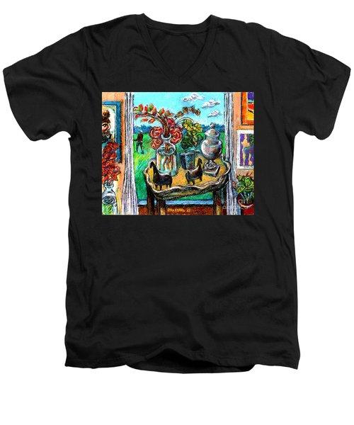 Departure Men's V-Neck T-Shirt