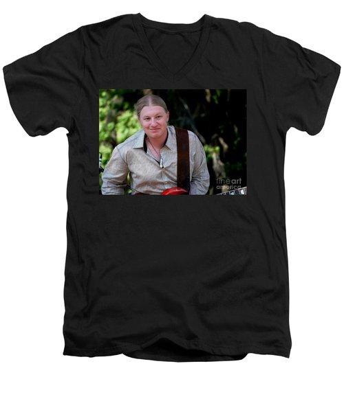 Derek Trucks Men's V-Neck T-Shirt