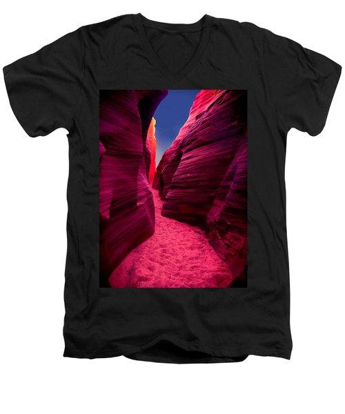 Desert Maze Men's V-Neck T-Shirt