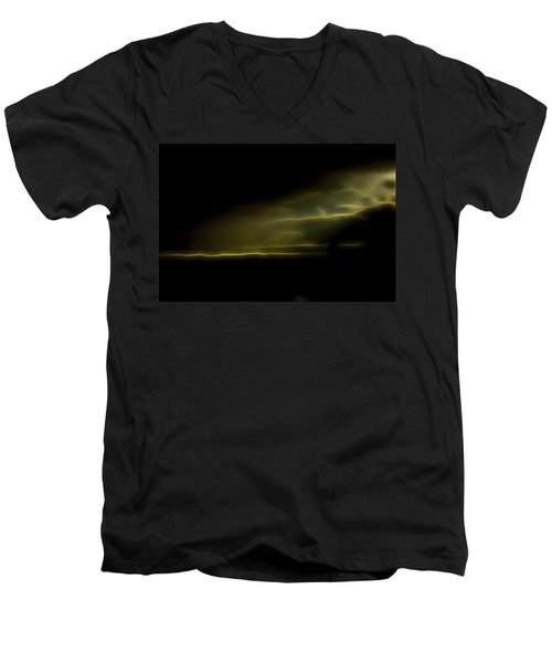 Desert Spotlight Men's V-Neck T-Shirt