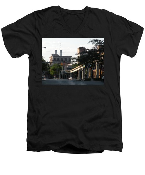 Detroit3 Men's V-Neck T-Shirt