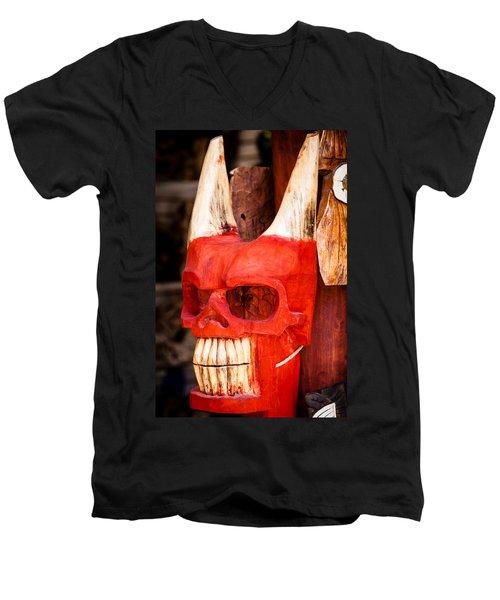Devil In The Details Men's V-Neck T-Shirt