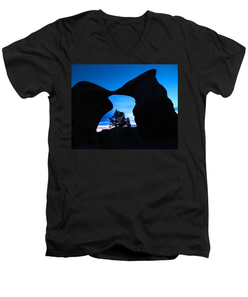 Devil's Garden Metate Arch 011 Men's V-Neck T-Shirt