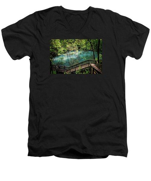 Devil's Millhopper Men's V-Neck T-Shirt