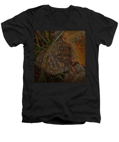 Dew To Age  Men's V-Neck T-Shirt