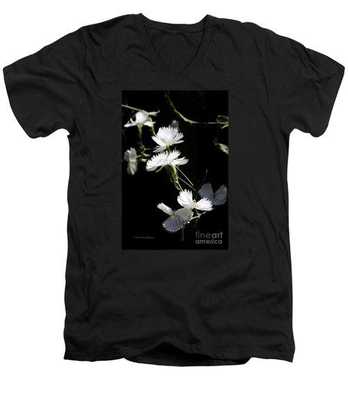 Dianthus Men's V-Neck T-Shirt