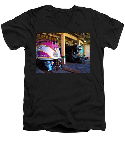 Diesel And Steam Men's V-Neck T-Shirt