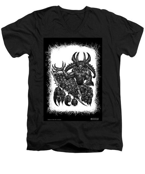 Display The Sins At Hand Men's V-Neck T-Shirt