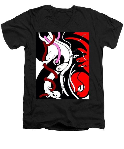 Disturbing Men's V-Neck T-Shirt