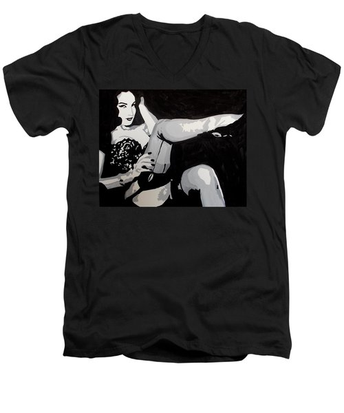 Dita Vo Teese Men's V-Neck T-Shirt