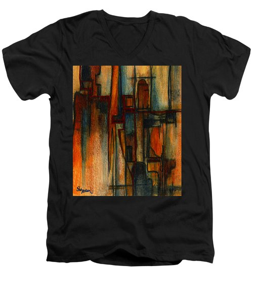 Divergence Men's V-Neck T-Shirt