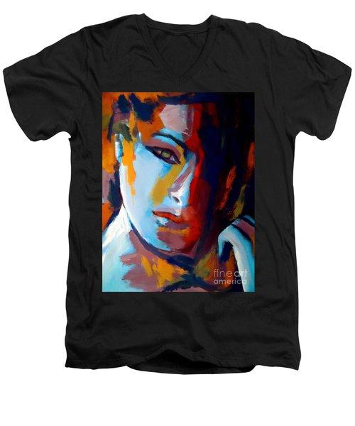 Divided Men's V-Neck T-Shirt