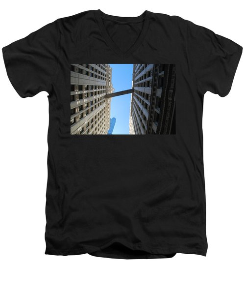 Men's V-Neck T-Shirt featuring the photograph Dizzy by Richard Bryce and Family