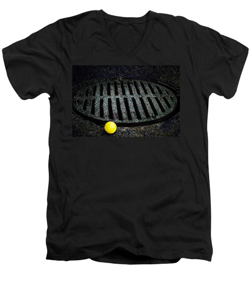 Dogs Eye View Men's V-Neck T-Shirt