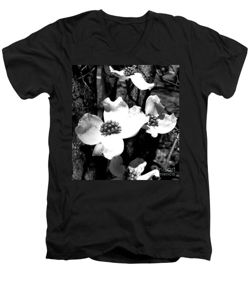 Dogwood 3 Men's V-Neck T-Shirt