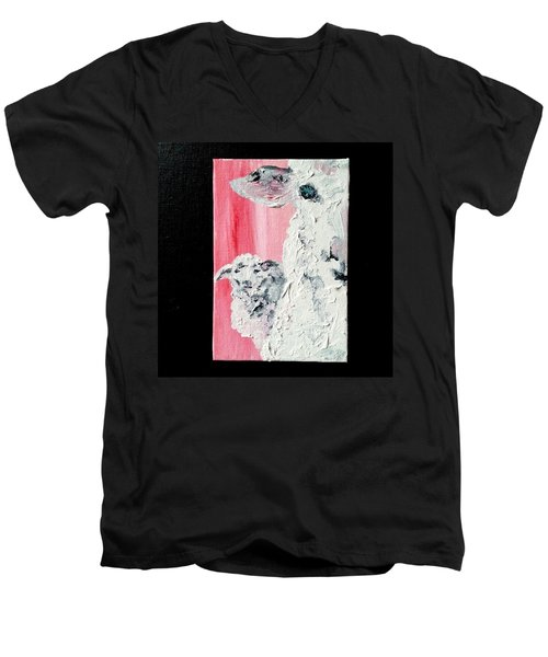 Dolly And Dot Men's V-Neck T-Shirt